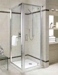 Twyford Geo6 Pivot Shower Door 800 x 1900mm