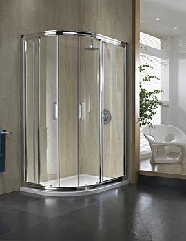Twyford Hydr8 Offset Quadrant Shower Enclosure 1200 x 900mm