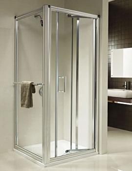 Twyford Hydr8 In-fold Shower Door 760mm