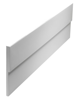 Twyford Indulgence White Front Bath Panel 1800mm
