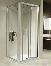 Twyford Hydr8 In-fold Shower Door 900mm