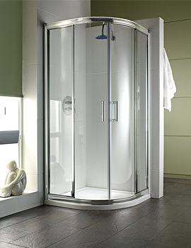 Twyford Hydr8 Quadrant Shower Enclosure 900 x 900mm