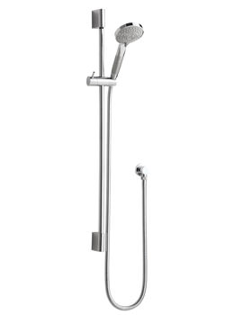 Hudson Reed Round Slimline Slider Rail Kit With Multifunction Handset