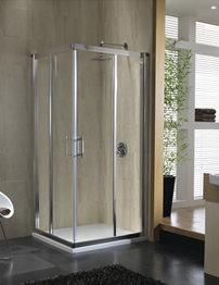 Twyford Geo6 Corner Entry Shower Enclosure 760-800mm