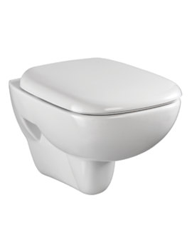 Twyford Moda Wall Hung White Toilet With 510mm Projection