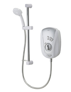 Aqualisa Vitalise SL White And Chrome Electric Shower 10.5KW