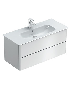 Ideal Standard Softmood 1000mm Wall Hung Basin Unit Gloss White
