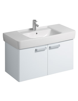 Twyford Galerie Plan White Finish Underbasin Furniture Unit And 1000mm Basin