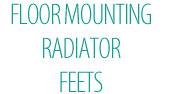 Floor Mounting Radiator Feets