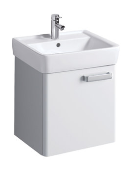 Twyford Galerie Plan White Finish Underbasin Furniture Unit And 550mm Basin
