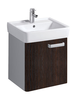 Twyford Galerie Plan Wenge Finish Underbasin Furniture Unit And 550mm Basin
