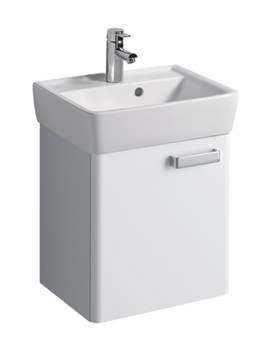 Twyford Galerie Plan White Finish Underbasin Furniture Unit And 500mm Basin