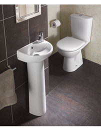 Twyford Refresh White Cloakroom Suite