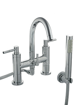 Hudson Reed Tec Lever Bath Shower Mixer Tap With Shower Kit