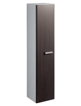 Twyford Galerie Plan 390 x 1730mm Wenge Finish Tall Furniture Unit