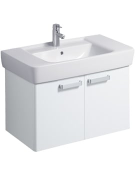 Twyford Galerie Plan White Finish Underbasin Furniture Unit And 850mm Basin