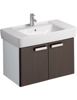 Twyford Galerie Plan Wenge Finish Underbasin Furniture Unit And 850mm Basin