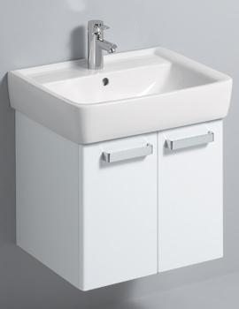 Twyford Galerie Plan 530 x 445mm White Finish Underbasin Furniture Unit