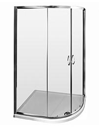 Lauren Ella Offset Quadrant Shower Enclosure 1200 x 800mm