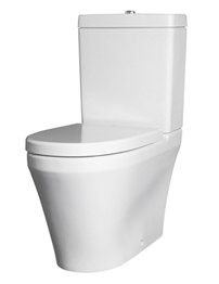 Lauren Marlow BTW Close Coupled Pan And Cistern With Soft Close Seat 610mm