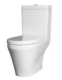 Lauren Marlow Semi BTW Close Coupled Pan And Cistern With Soft Close Seat