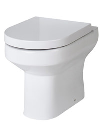 Lauren Harmony Back To Wall WC Pan With D Shape Soft Close Seat 510mm