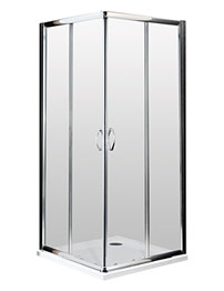 Lauren Ella Corner Entry Shower Enclosure 760 x 760mm