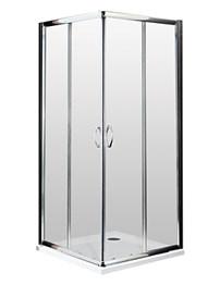 Lauren Ella Corner Entry Shower Enclosure 800 x 800mm
