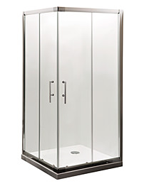 Lauren Aegean Corner Entry Enclosure 800 x 800mm