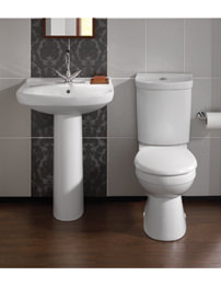 Twyford Grace White Cloakroom Suite