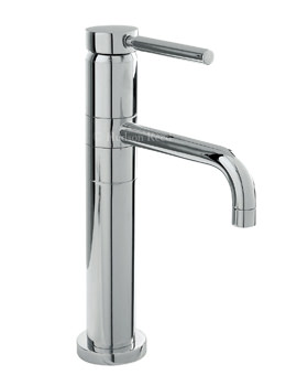 Hudson Reed Tec Single Lever High Rise Mixer Tap With Swivel Spout