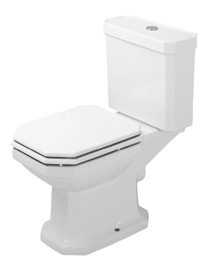 duravit 1930 series close coupled toilet with cistern and seat. Black Bedroom Furniture Sets. Home Design Ideas
