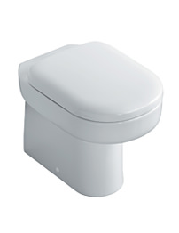 Ideal Standard Playa Back To Wall WC Pan With Horizontal Outlet