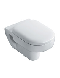 Ideal Standard Playa Wall Hung WC Pan With Horizontal Outlet