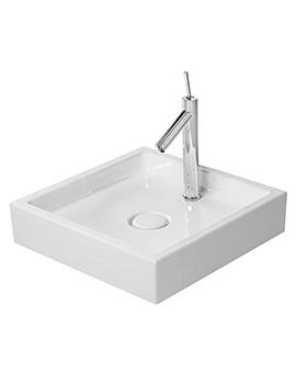 Duravit Starck 1 Square 1 Tap Hole Grinded Wash Bowl 470mm