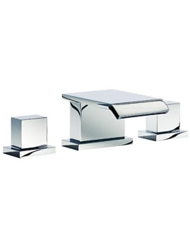 Mayfair Rio 3 Hole Bath Set Chrome