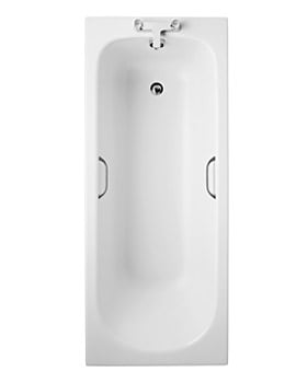 Ideal Standard Alto CT Water Saving 2 TH Bath With Handgrips 170 x 70cm