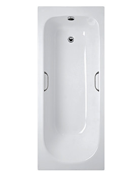 Ideal Standard Alto CT 170cm x 70cm No TH Idealform Plus Bath With Grips