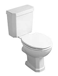 Ideal Standard Plaza Close Coupled WC Pan With Horizontal Outlet