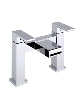Mayfair Swell Deck Mounted Bath Filler Tap Chrome