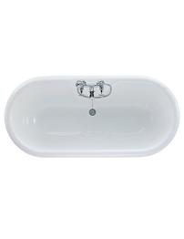 Ideal Standard Roll Top 170cm x 80cm Idealcast Bath With Cast Iron Feet