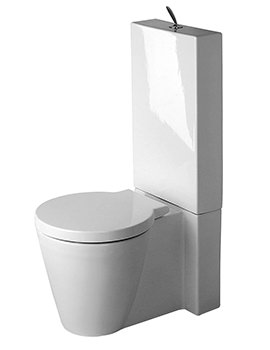 Duravit Starck 1 Close Coupled WC And Cistern With Seat And Cover