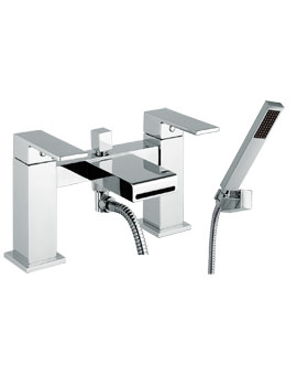 Mayfair Swell Deck Mounted Bath Shower Mixer Tap With Handset