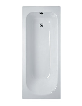 Ideal Standard Alto CT 170cm x 70cm Idealform Plus Bath With No Tapholes