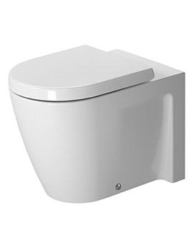 Duravit Starck 2 Floor Standing Back To Wall Toilet 570mm
