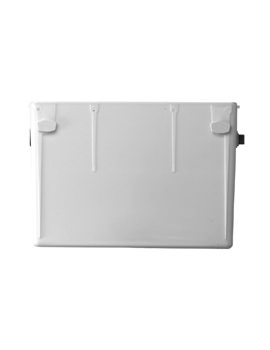 Twyford Single Flush 4 Litre SSIO Concealed Cistern With DAIV