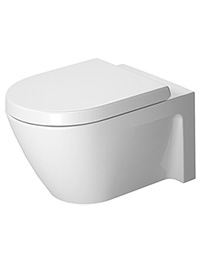 Duravit Starck 2 540mm Washdown Wall Mounted Toilet