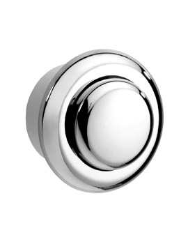 Twyford Chrome Small Air Push Button For Single Flush Cistern