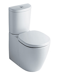 Ideal Standard Concept Arc-Sphere Close Coupled Back-To-Wall WC Pan
