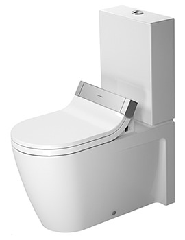 Duravit Starck 2 Close Coupled Toilet With SensoWash Seat